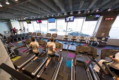 Treadmills and TVs